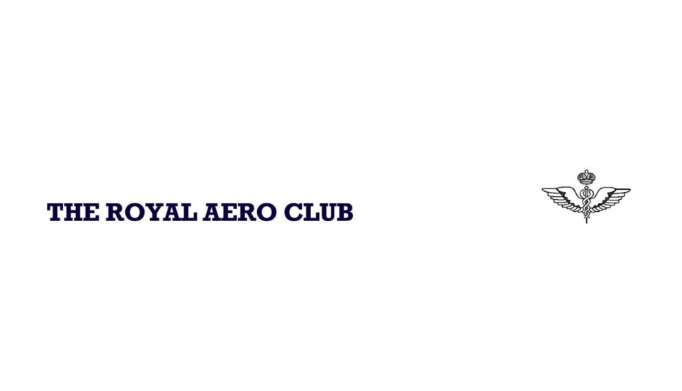 Letter of support – The Royal Aero Club of the United Kingdom