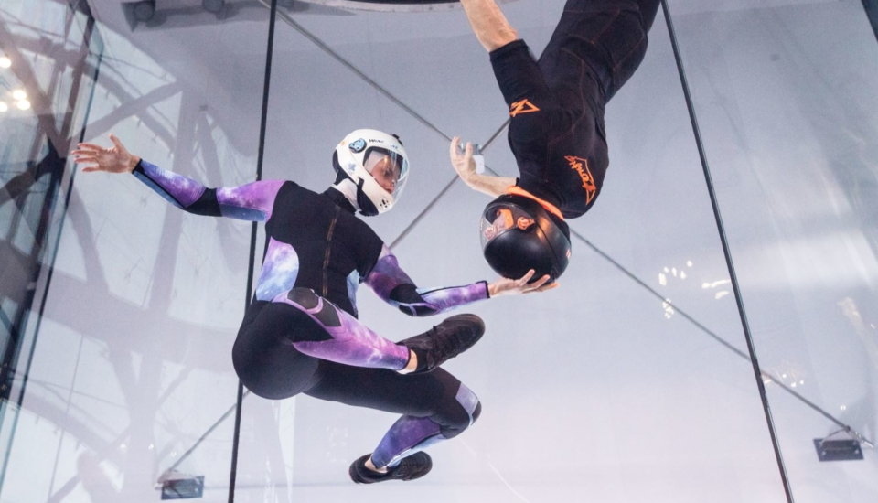 277- Press release indoor skydiving